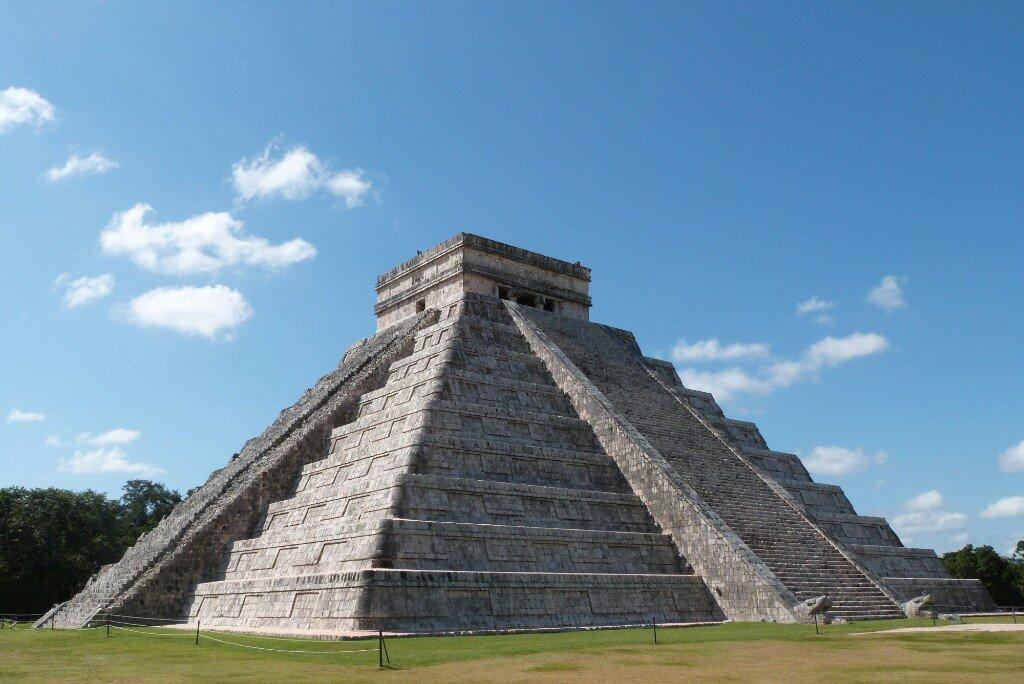 Pirámide de Kukulcan a 1a hora