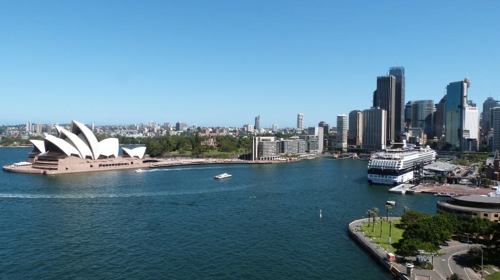 Sídney desde el Harbour Bridge