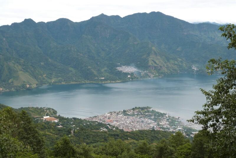 San Pedro desde las primeras rampas del volcán