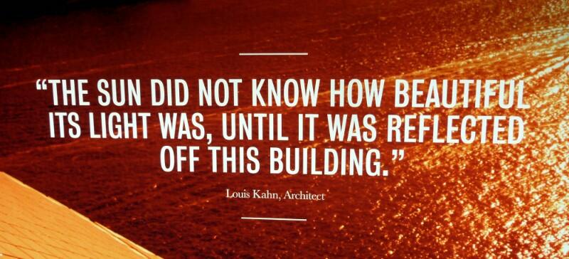 Cita de Louis Khan sobre la ópera