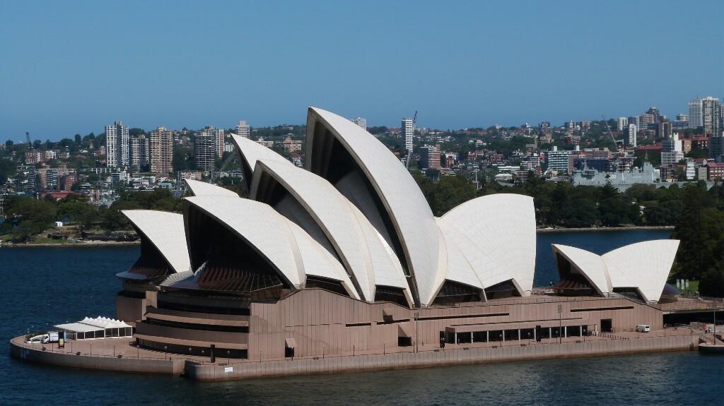 La ópera de Sídney, maravilla del mundo