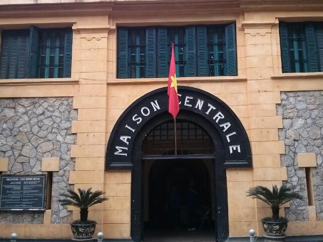 Antigua prisión en Hanoi