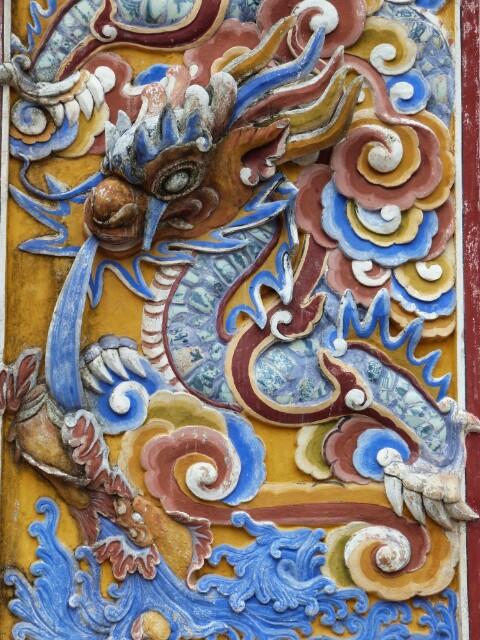 Dragón el símbolo de Vietnam