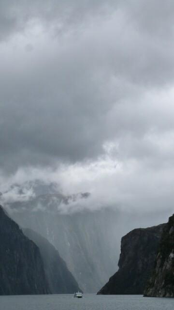 Estampa en Mildford Sound