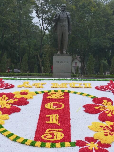 Estatua de Lenin en Hanoi