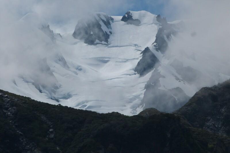 Los escoltas del glaciar Fox