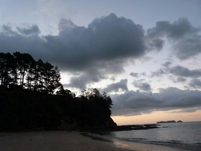 Nuestra playa en Coromandel