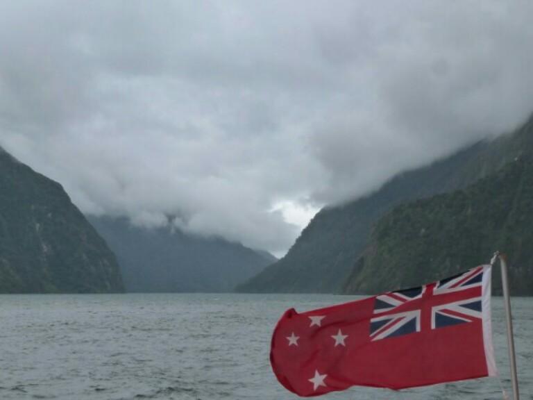 Nueva Zelanda en Mildford Sound