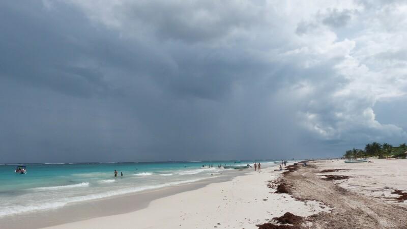 Playa en Tulum_México