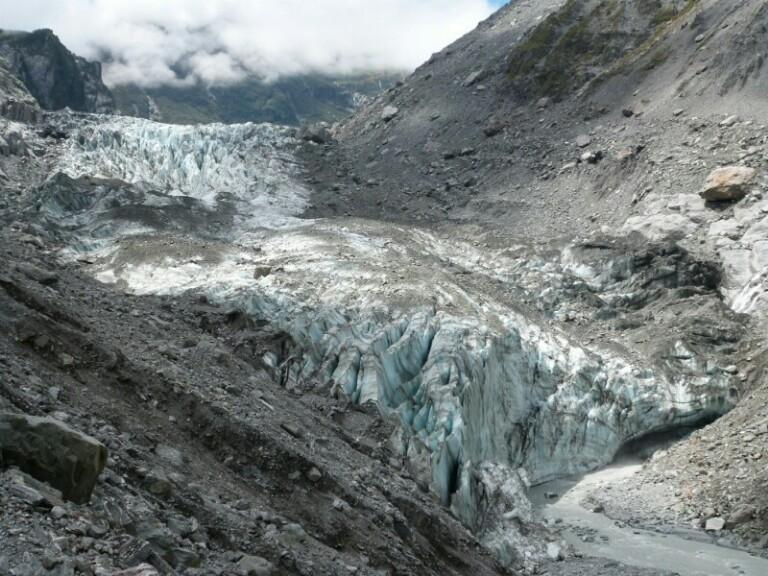 Portada de fox glacier