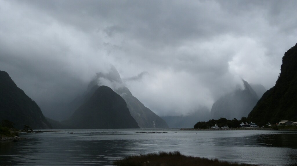 Postal desde Mildford Sound