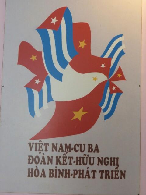 Vietnam y Cuba unidas