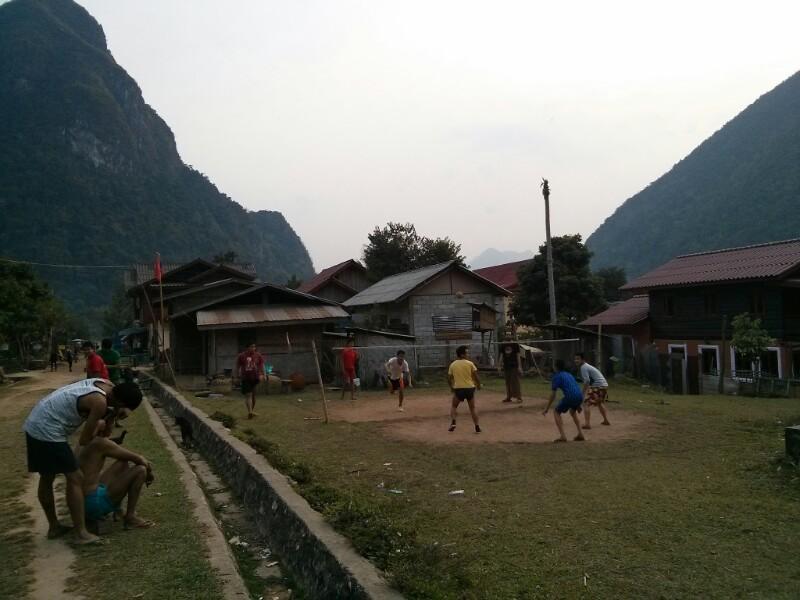 Así es la vida en un pueblo de Laos