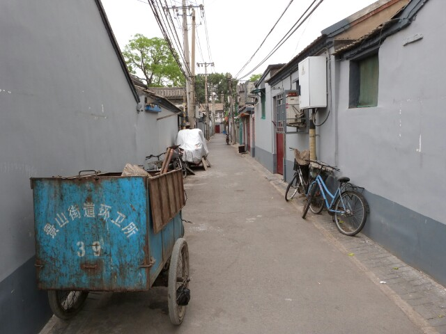Callejones en Pekín
