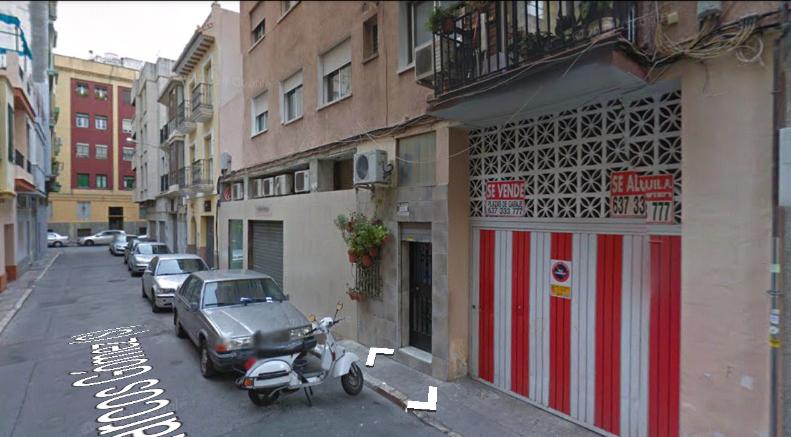 La calle Marcos Gómez a día de hoy
