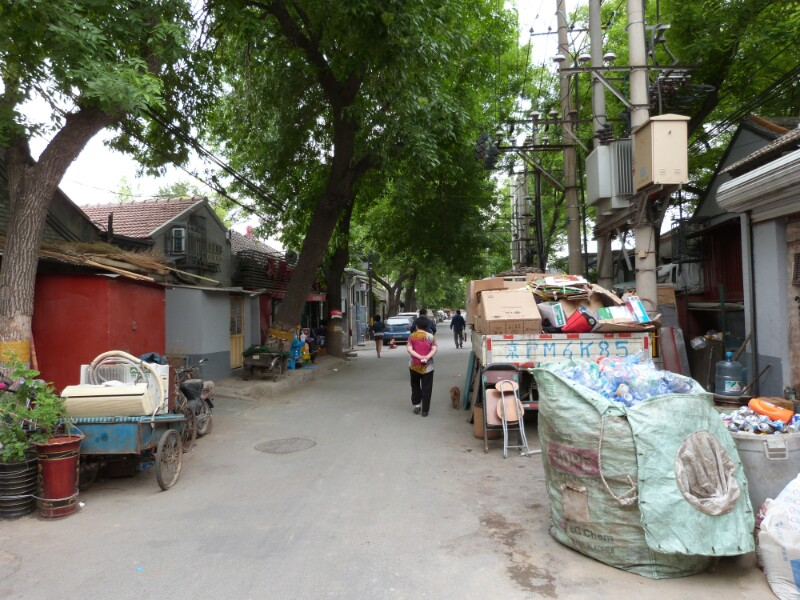 La calle Marcos Gómez de Pekín