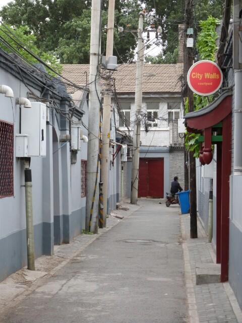 Mi calle en Pekín durante una semana