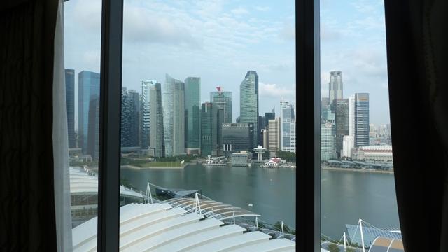 Vistas desde nuestra habitación del MBS