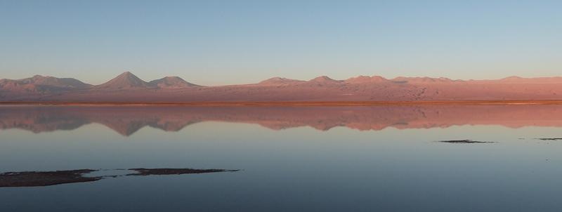 Atardecer en el desierto de Atacama