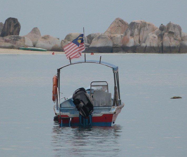 Barca en Pulau Pangkor