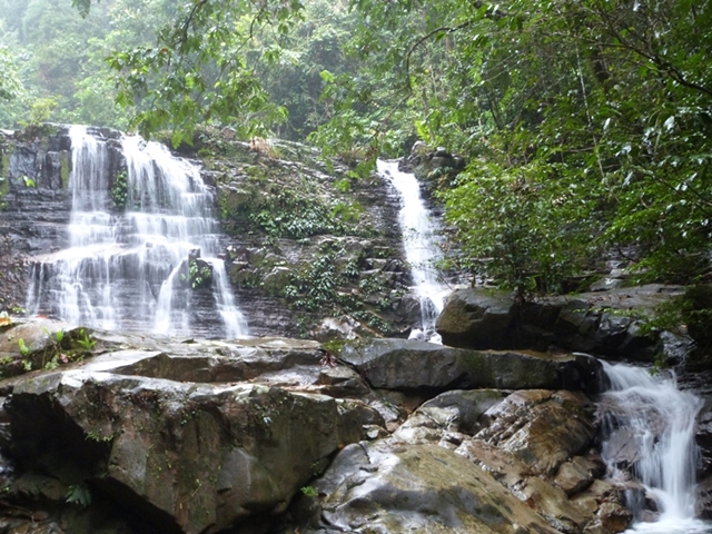 Cascadas en Kubah