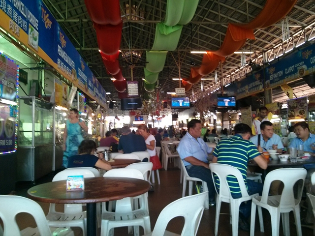 Clasico mercado en Malasia