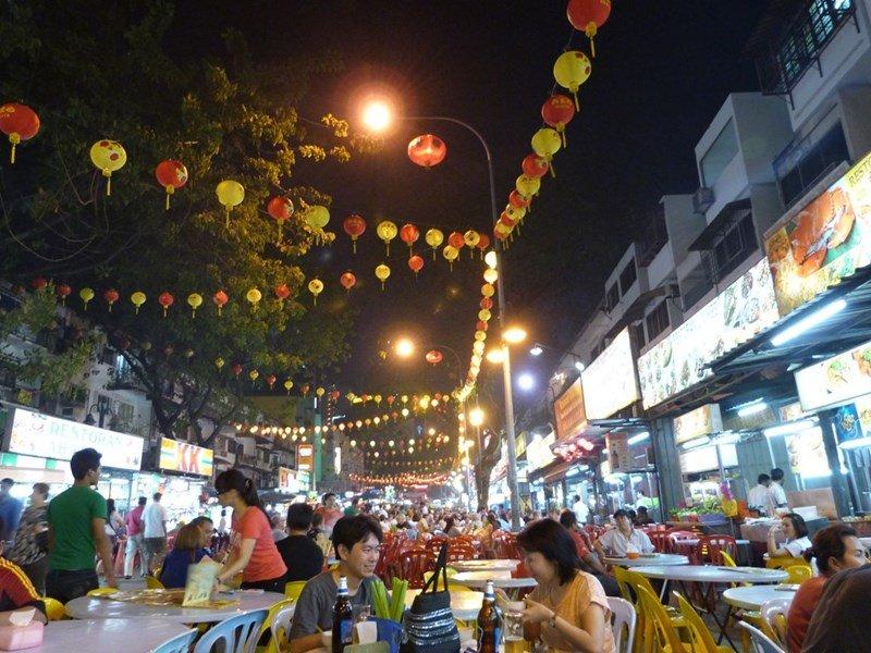 Comiendo en Bukit Bintang_Kuala Lumpur