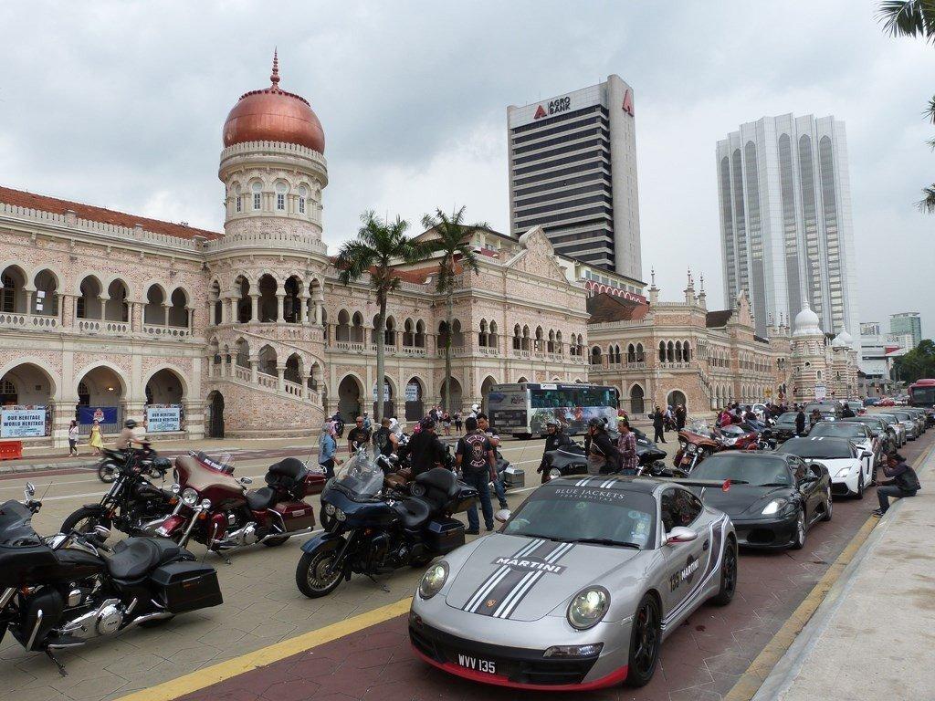 El centro de Kuala Lumpur