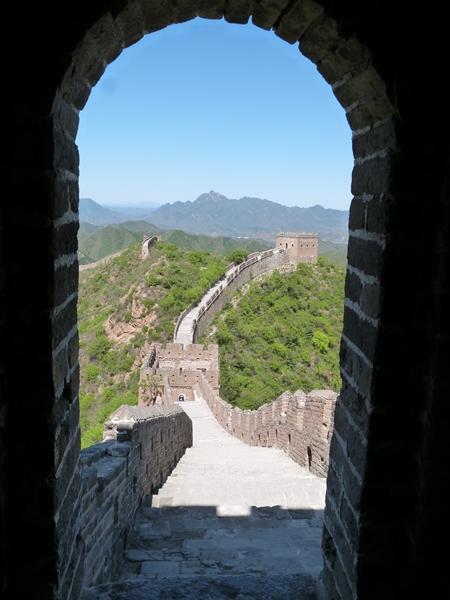 Emprendiendo el camino desde la torre de las 5 ventanas