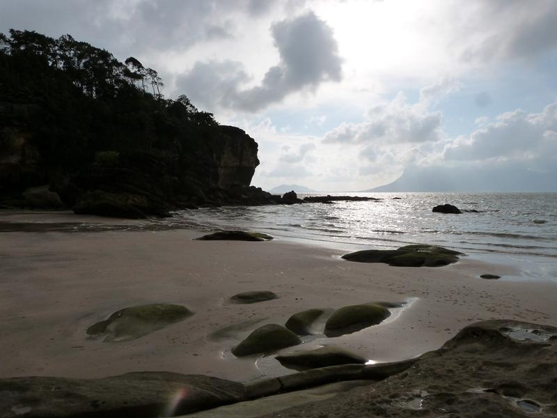 Playas solitarias en Bako