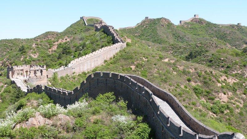 Serpenteo de la Gran Muralla