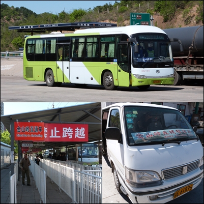 Transporte Jinshaling desde Pekín