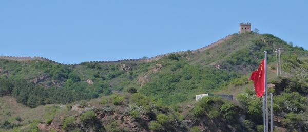 Vista de la Gran Muralla desde Jinshanling Service Center