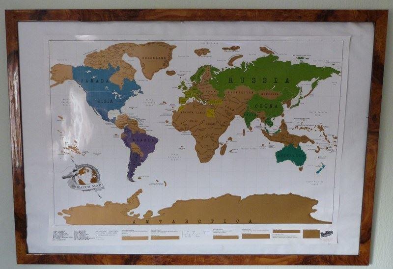 Así queda el mapa tras la vuelta de la vuelta al mundo