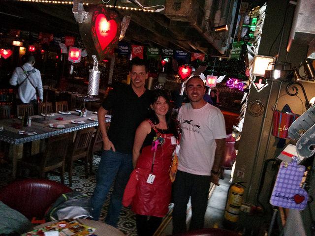 En Bogotá con Antonio