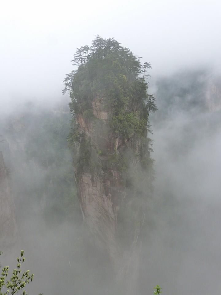 Escenas desde lo alto de Avatar