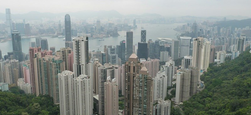 Hong Kong desde the Peak