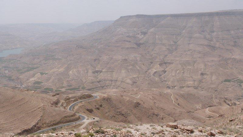 Paisajes camino de Petra