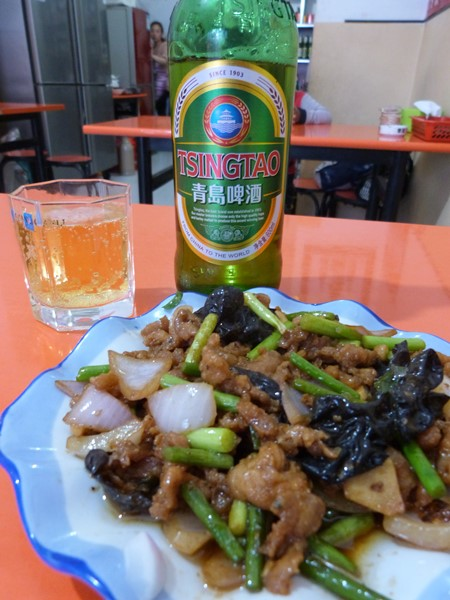 Una sabrosa comida china