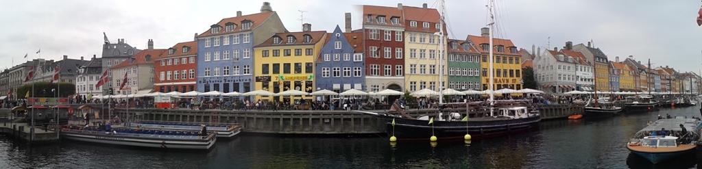 Casas de colores en Nyhavn
