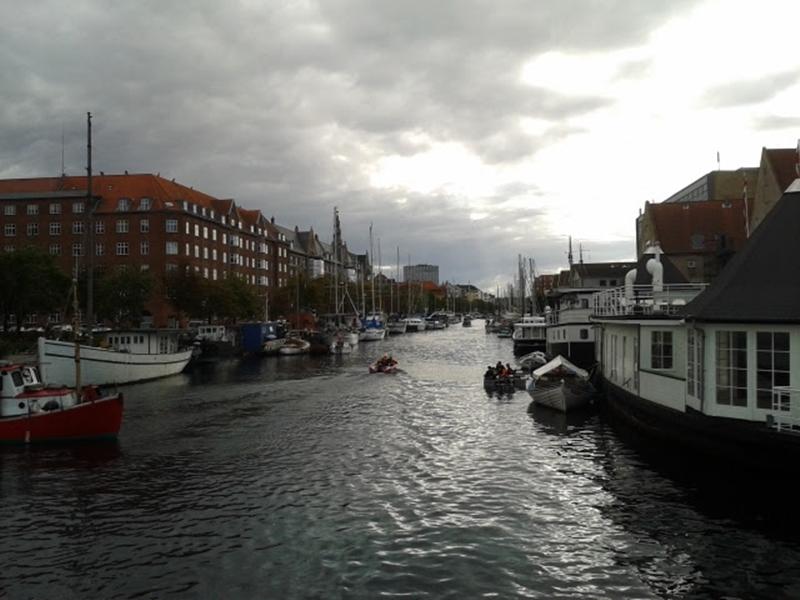 El canal de Christianshavn