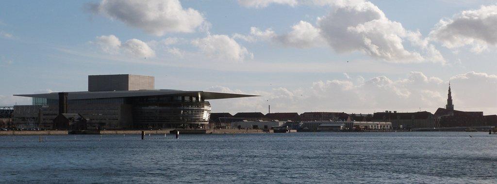 Panorámica de la zona de Christianshavn