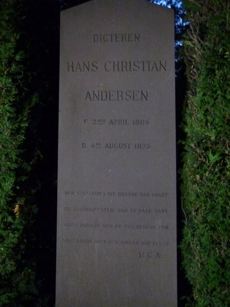 Tumba de Hans Christian Andersen