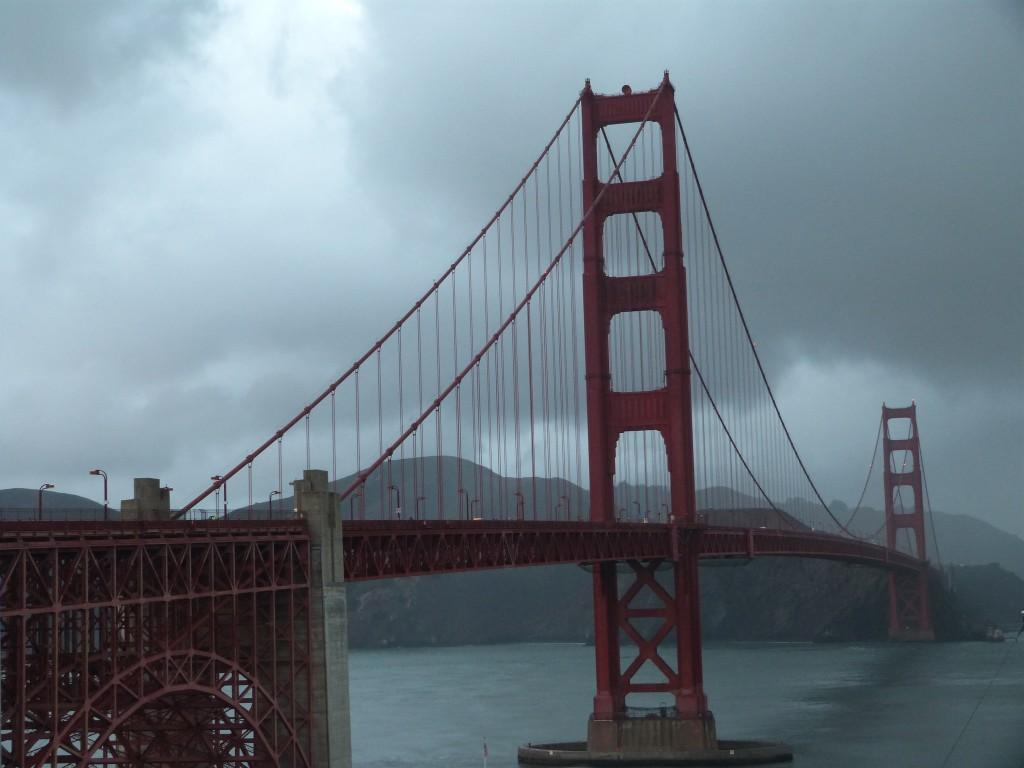 Golden Gate al atardecer
