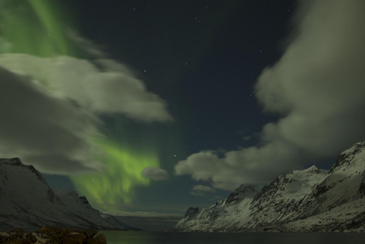 La fuerza de la naturaleza en forma de Auroras Boreales