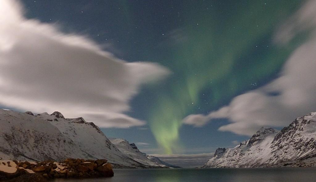 Las Auroras Boreales pintando el cielo