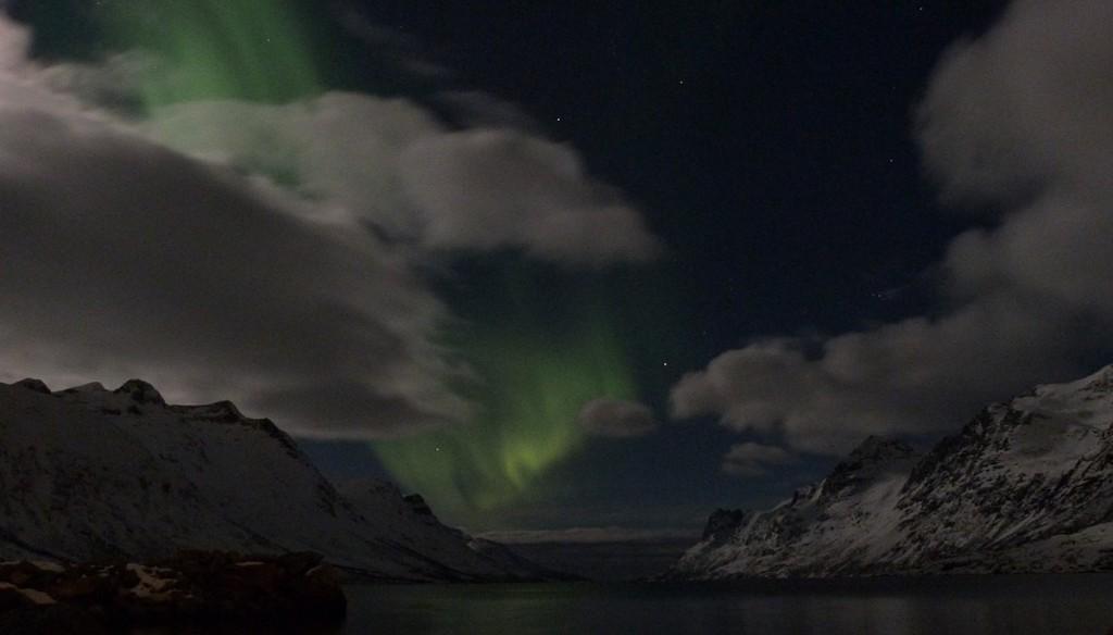 Primeras pinceladas de las Auroras Boreales