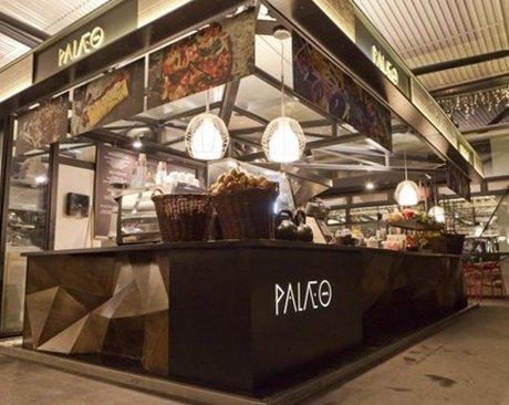 Puesto de comida Paleo en el Torvehallerne