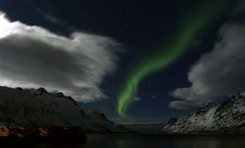 Una tormenta solar que se convierte en Aurora