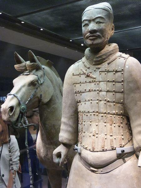 Detalles del ejército de Xian